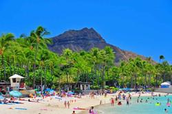 Waikiki's Iconic Diamond Head