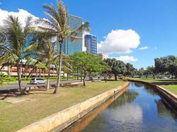 Ala Moana Beach Park Canal