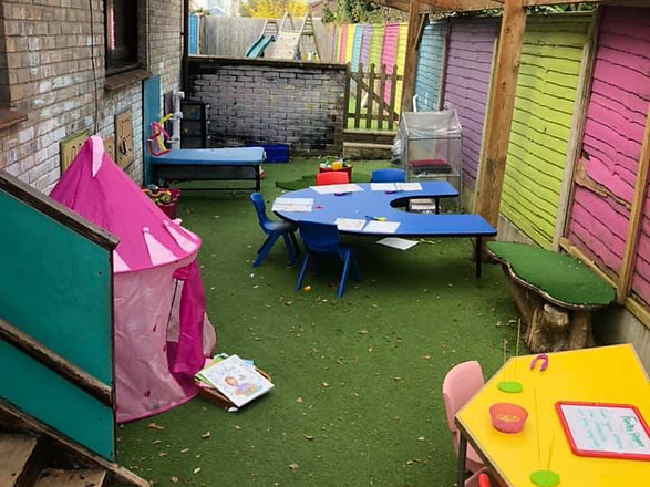 pre- school garden