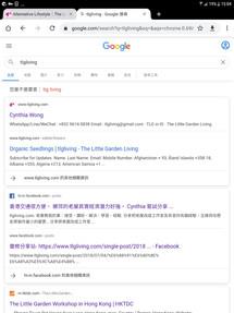 認真地排在Google首頁