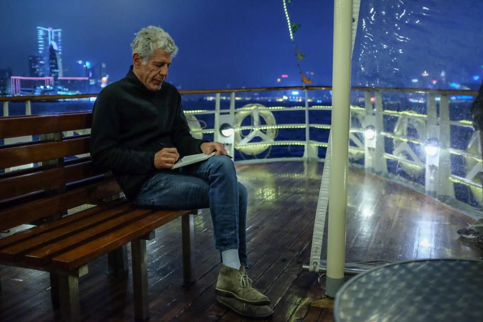 Photo from FB: Anthony in Star Ferry, Hong Kong