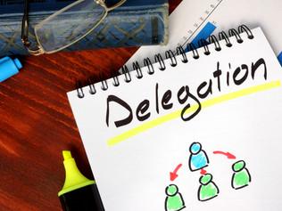 Time Management – The Importance of Delegation