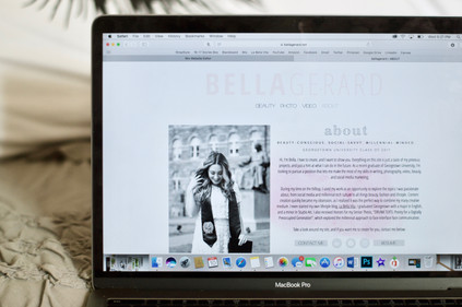 THE GRAD SERIES: MAKING A WEBSITE + PERSONAL BRAND