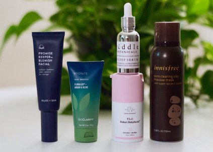 MY GO-TO PRODUCTS TO CLEAR BREAKOUTS AND DETOX MY SKIN
