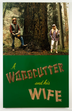 Ken Lum, A Woodcutter and His Wife