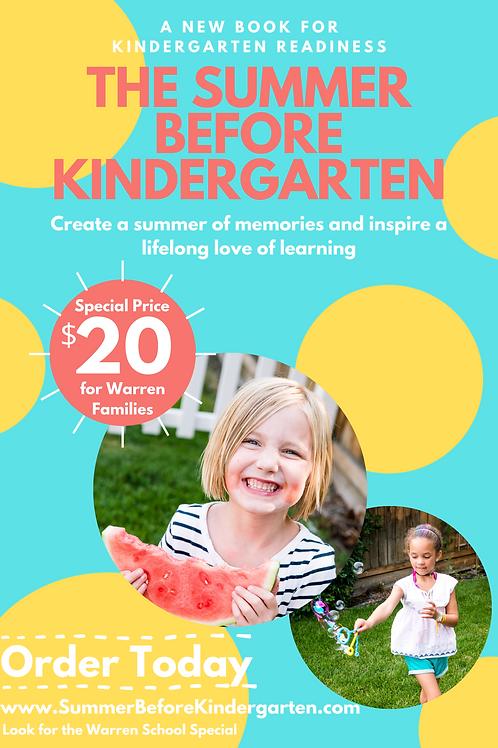 The Summer Before Kindergarten Book - Warren School Special