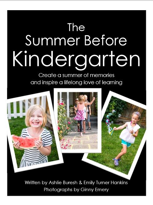 The Summer Before Kindergarten Book
