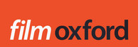 film oxford logo red bg white black text