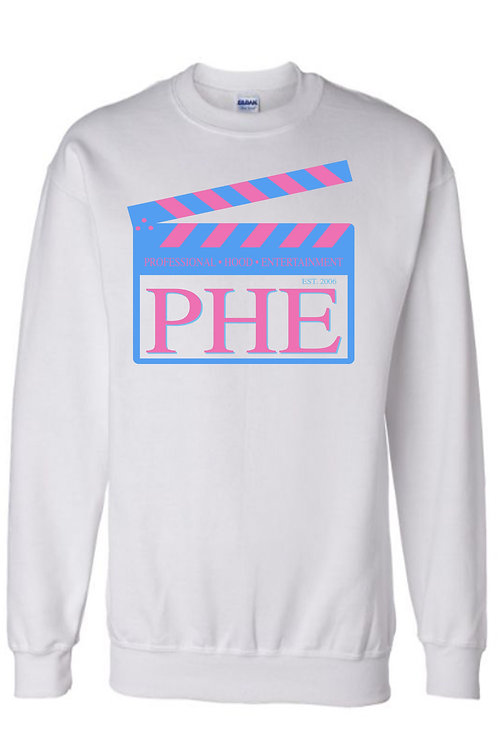 PHE Unisex Sweat Shirts Est. 2006 Style- Teal/Pink Logo