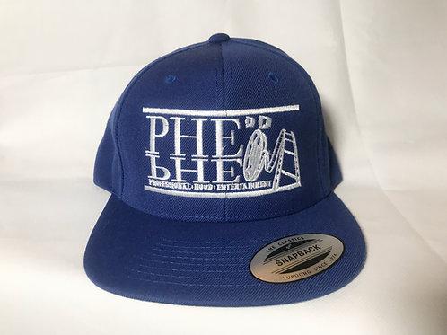 PHE Fitted Cap Lrg/XL Hat- White Logo