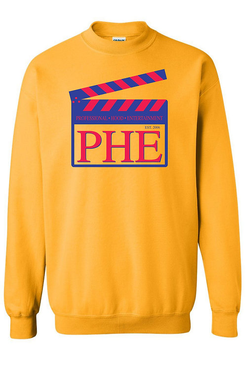 PHE Unisex Sweat Shirt Est. 2006 Style- Blue/Red Logo