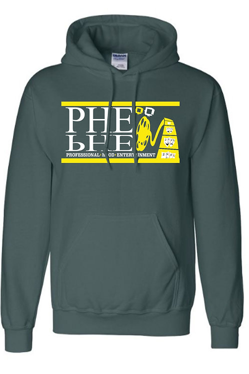 PHE NFL/NBA Unisex Hoodies Yellow-White