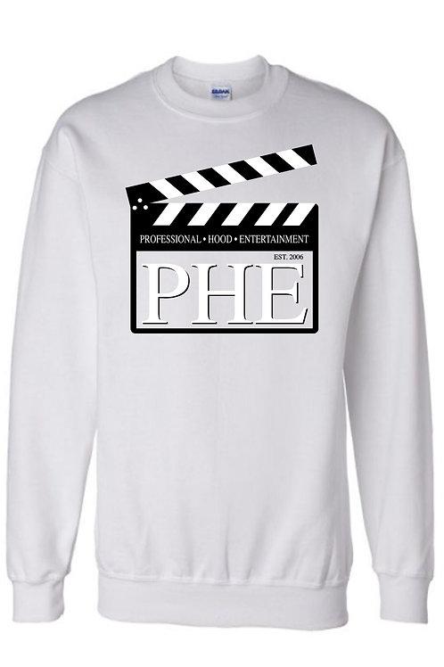 PHE Unisex Sweat Shirts Est. 2006 Style Original- Black/White Logo