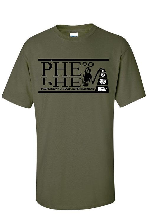 PHE Men's Crew Neck T-shirt Black