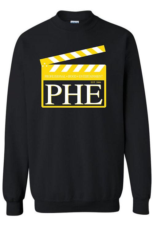 PHE Unisex Sweat Shirts Est. 2006 Style- Yellow/White Logo