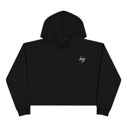 best8 crop hoodie