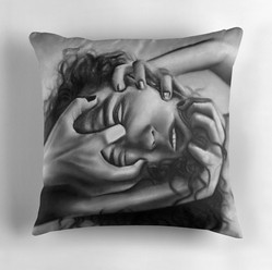 """Ego Death"" Throw Pillow"