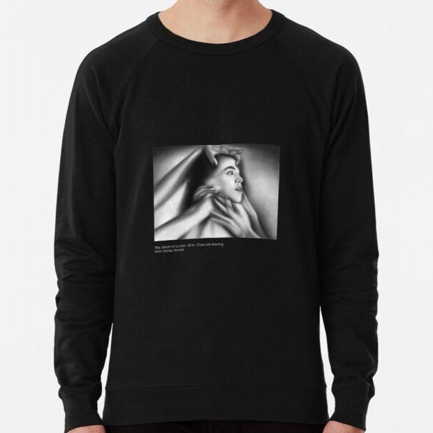 """""""Death of a Child"""" Lightweight Unisex Sweatshirt"""