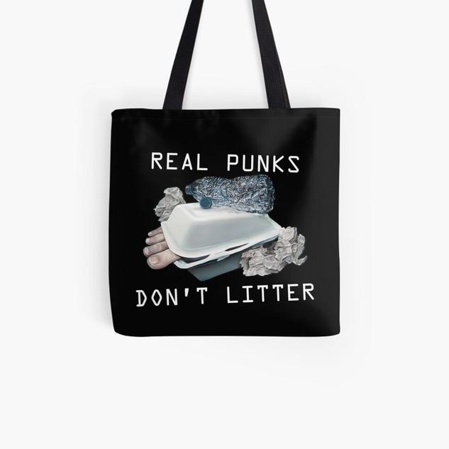 """""""Dystopian Detritals"""" Tote Bag"""