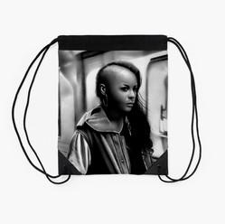 """""""In Transit"""" Drawstring Bag"""
