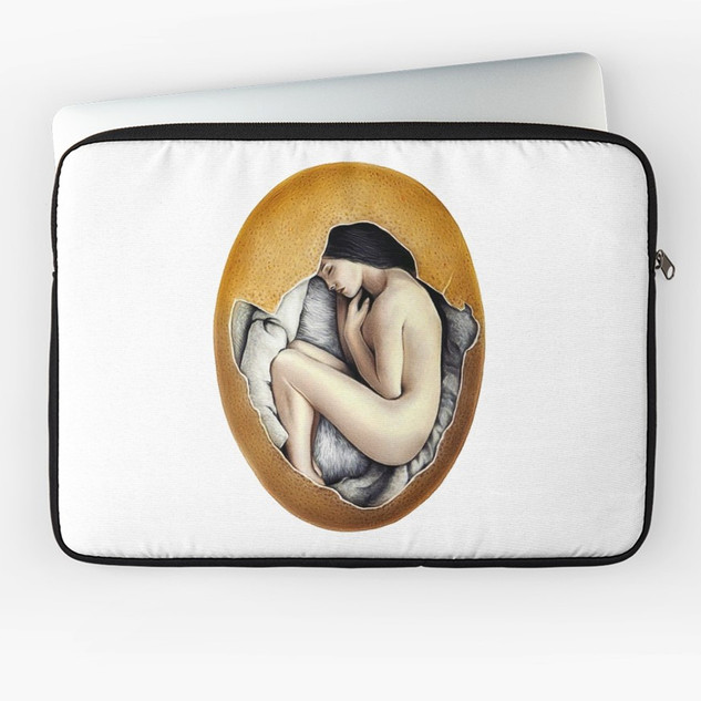 """""""Hatched"""" Laptop Sleeve"""