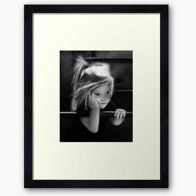 """THAT ONE CHILDHOOD PLAYGROUND..."" Framed Print"