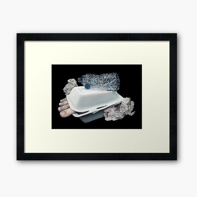 """""""Dystopian Detritals"""" Framed Print"""