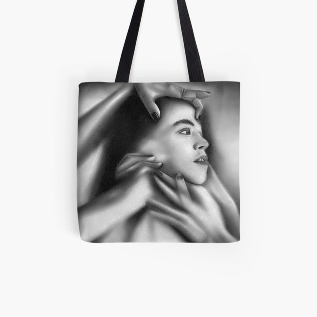 """Death of a Child"" Tote Bag"