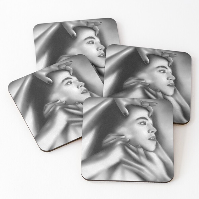 """""""Death of a Child"""" Coasters"""