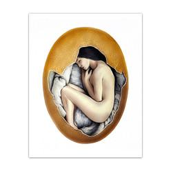 """Hatched"" Art Print"