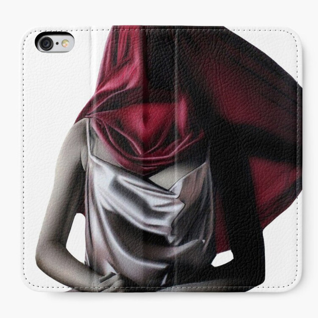 """""""Comfort in Silence"""" Iphone Wallet"""