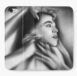 """""""Death of a Child"""" Iphone Wallet"""