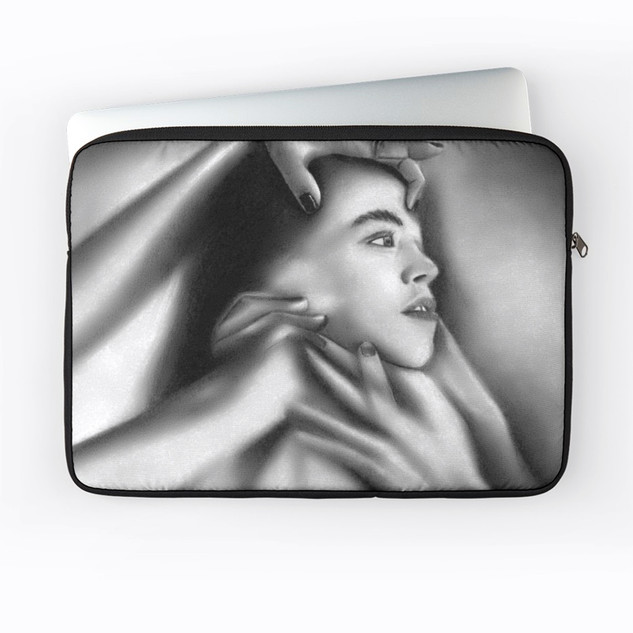 """""""Death of a Child"""" Laptop Sleeve"""