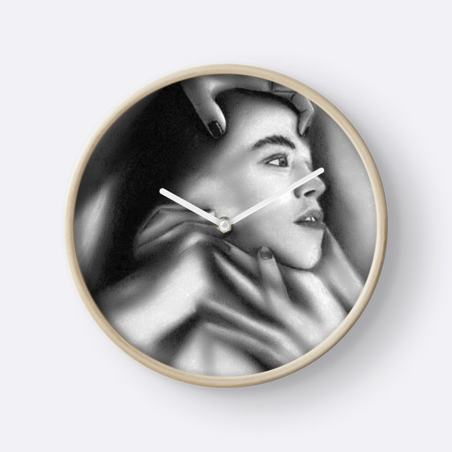 """""""Death of a Child"""" Clock"""