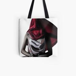 """Comfort in Silence"" Tote Bag"