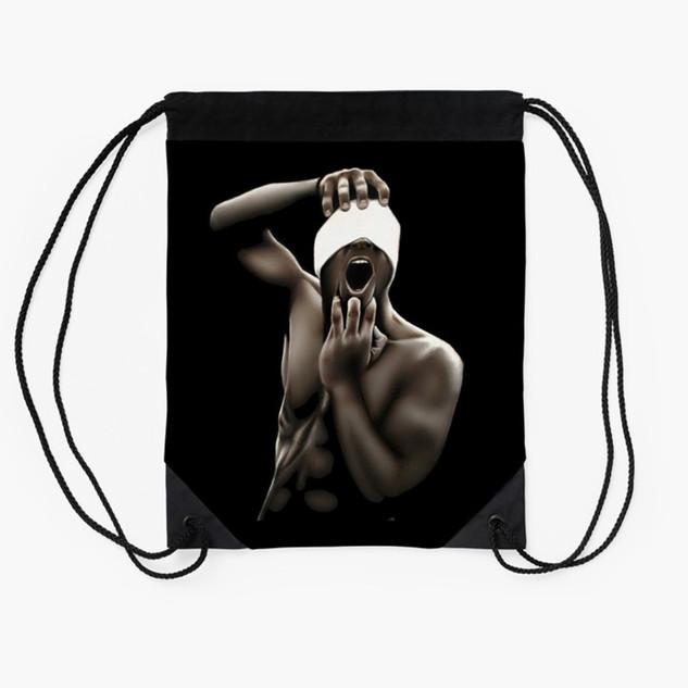 """""""Descent"""" Drawstring Bag"""