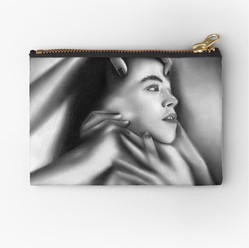 """""""Death of a Child"""" Pouch Bag"""
