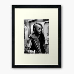 """""""In Transit"""" Framed Print"""