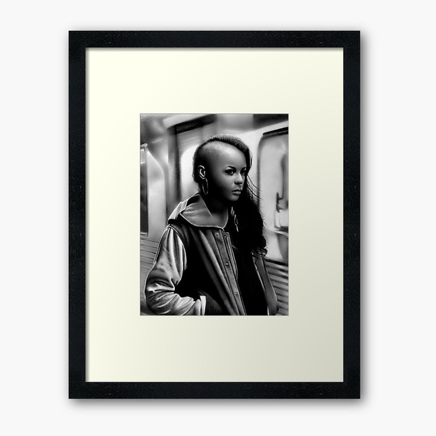 """In Transit"" Framed Print"