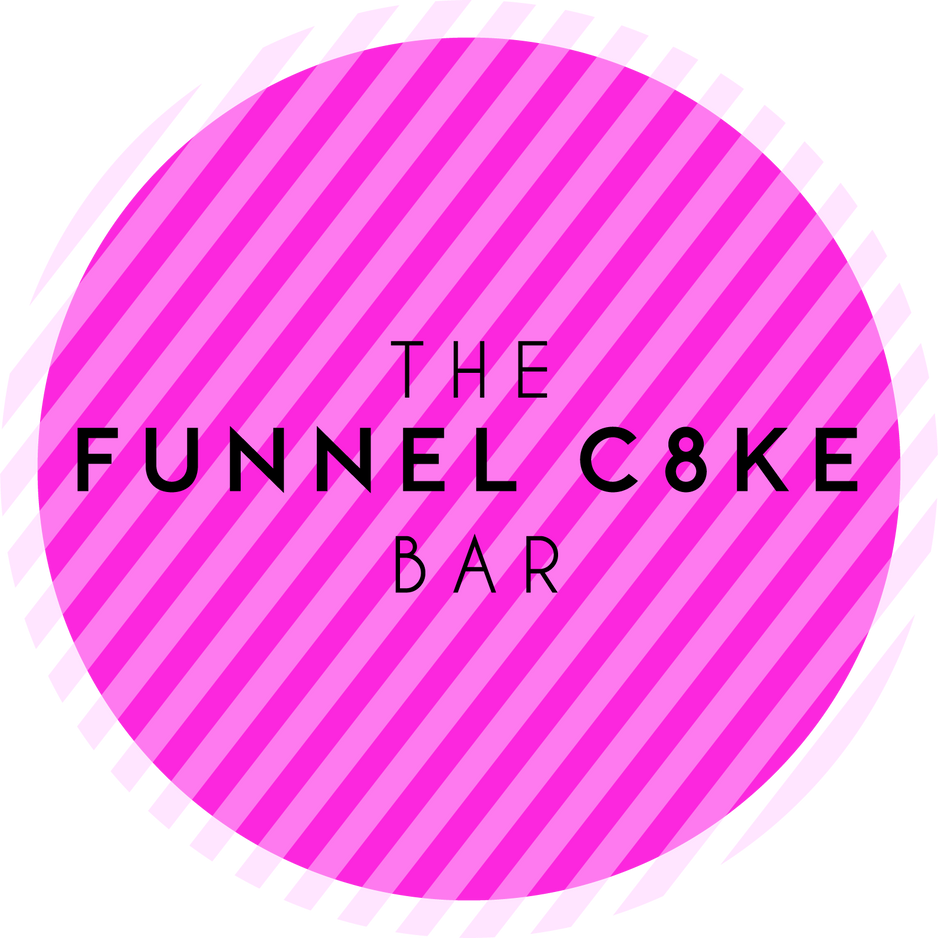 The Funnel Cake Bar Official Logo Pink.p