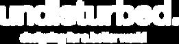 Undisturbed_Logo+Tagline_White JB.png