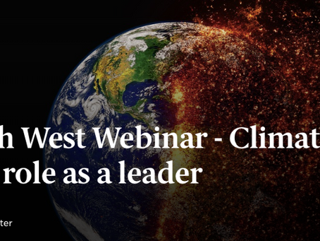The climate change challenge: Will you be a leader in sustainability?