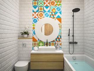 Make your small bathroom look bigger