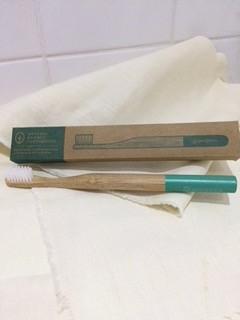 Georganics bamboo toothbrush