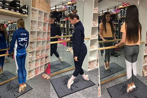 Pointe Shoe Fitting at En pointe Dancewe