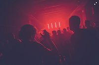 People in nightclub. Photo by Pim Myten on Unsplash