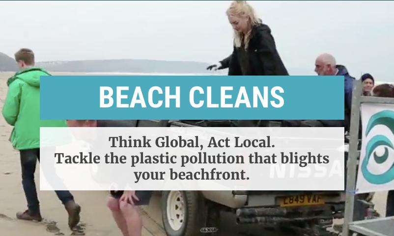 Surfers Against Sewage Beach Clean