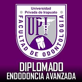 Diplomado Endodoncia Avanzada UPI  Coordinador Dr. Jesus Omar Noriega Gutierrez Especialista en Endodoncia Protesis Implantes UPI UQI Irapuato Salamanca Odontologia.FM LOGO