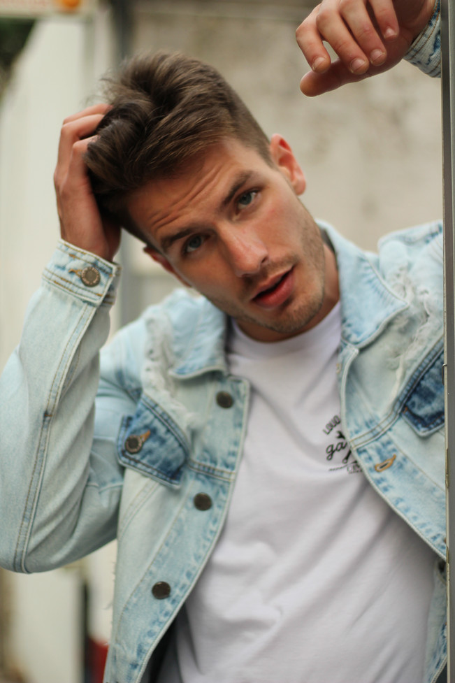 Dimy Men Editorial with Pedro Senger photographed by Ton Gomes