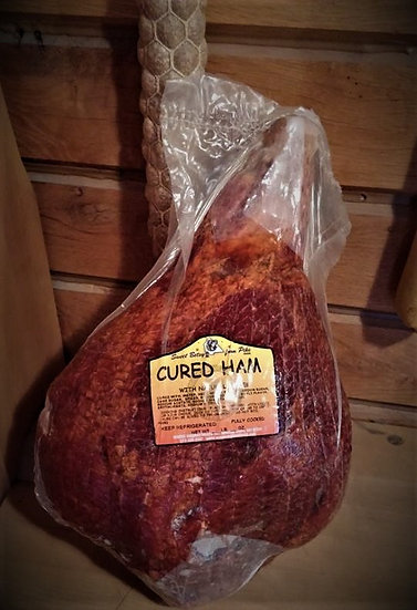 Hickory Smoked Bone-In Cured Ham